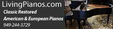 Living Pianos banner