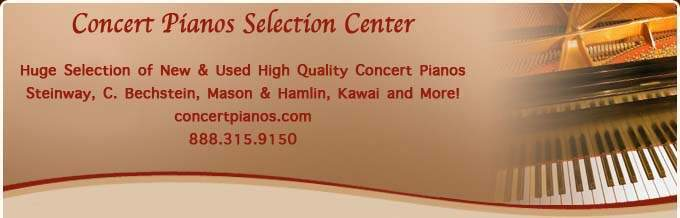 Concert Pianos
