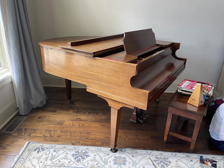 1935 Vose & Sons Baby Grand Piano